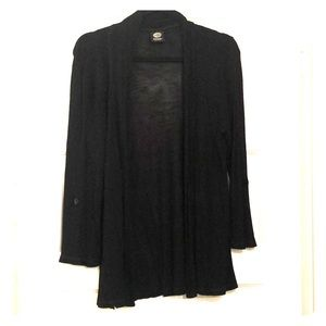 Bobeau black lightweight cardigan
